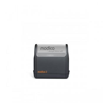 Modico 2 Flashstempel 3 Zeilen Text