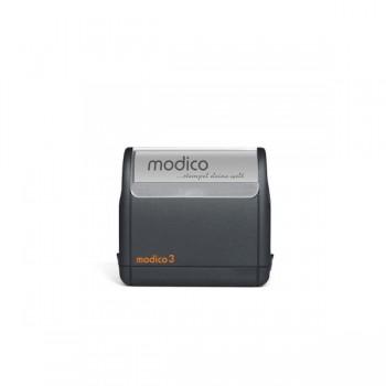 Modico 3 Flashstempel 4 Zeilen Text