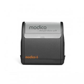 Modico 6 Flashstempel  8 Zeilen Text